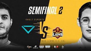 Vault Esports VS MAD Lions E.C. Colombia | Semifinales | Golden League Clausura - Playoffs | Mapa 2