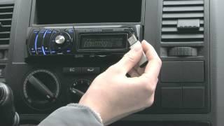 Creasono MP3-Autoradio CAS-4350i RDS/USB/SD/-Dock für iPhone