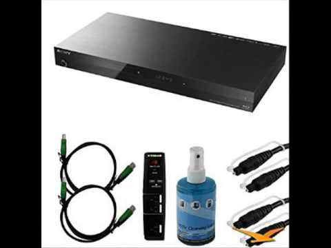 Sony BDP-S7200 4K Wi-Fi Blu-ray Disc Player Bundle