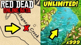 MUST SEE* Best Solo Fishing Glitch/Method Red Dead