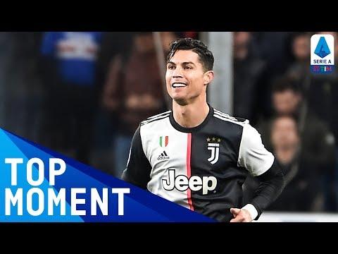 Ronaldo Scores Insane Goal With Giant Leap!   Sampdoria 1-2 Juventus   Top Moment   Serie A TIM
