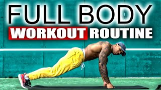 Full Body Workout – 30 min with No Equipment