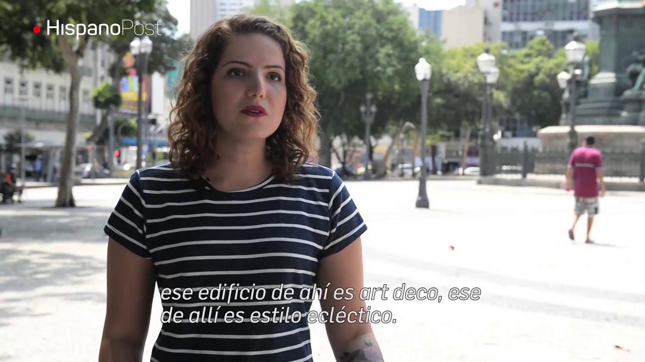 Una auténtica aula de historia en las calles de Río