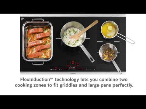 Bosch Benchmark FlexInduction Cooktops