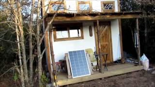 Download Youtube: 2000$ off grid tiny house tour