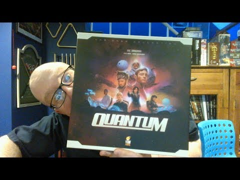 The Board Game Kaptain's review and tutorial for Quantum