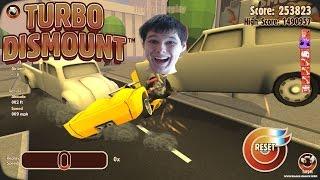 У НЕГО ГОЛОВУ СОРВАЛО!    Крышесносные игры    Turbo Dismount