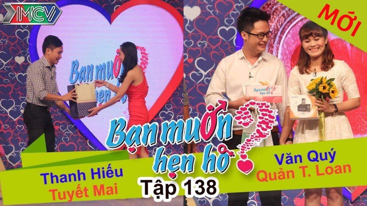 BẠN MUỐN HẸN HÒ #138 UNCUT | Thanh Hiếu - Tuyết Mai | Văn Quí - Quản Loan | 010216 💖