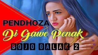 Di Gawe Penak (Bojo Galak 2) -PENDHOZA - HipHop Terbaru 2018 Lirik
