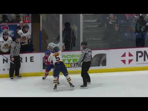 Jordan Lepage vs. Liam Leonard