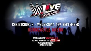 WWE LIVE returns to New Zealand this September