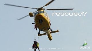 Who will rescue Jesus? Mark 15:35-36