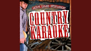 Half a Man (In the Style of Anthony Smith) (Karaoke Version)
