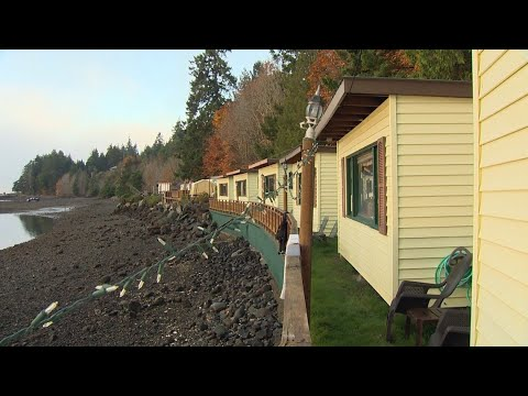 This Olympic Peninsula retreat is on a private shellfish beach - KING 5 Evening