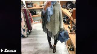 Casual Street Styles Hijab Fashion Fall Winter ✿ملابس محجبات كاجوال للشتاء