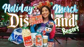 NEW Holiday Treats And Merch At The Disneyland Resort Already?! | Disney Holiday Merch 2019