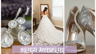 My Bridal Accessories! Wedding Dress, Veil, Shoes, Jewelry, Headpiece