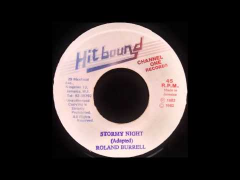 ROLAND BURRELL – Stormy Night [1982]