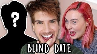 Surprising My Blind Friend with a Blind Date
