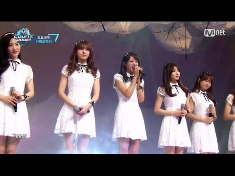 I.O.I Debut Stage 「Knock Knock Knock」(2016年5月5日放送「M COUNTDOWN」)