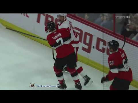 Brady Tkachuk vs. Justin Abdelkader
