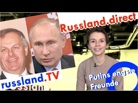 Putins engste Freunde [Video]