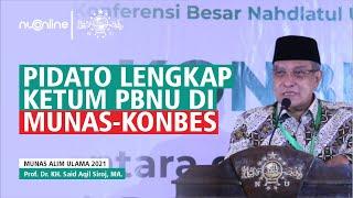 Ketum PBNU KH Said Aqil Siroj Ingatkan soal Utang Indonesia