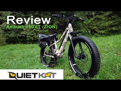 Review: QuietKat Ambush 750 LT Fat Tire Hunting Bike