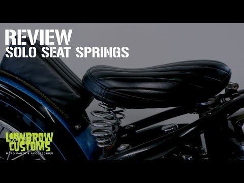 Solo Seat Springs Review For Custom Motorcycles, Choppers and Bobbers
