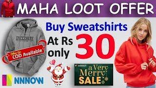 Tshirts - Sweatshirt - Jeans FREE For Men and Women | खरीदो सिर्फ 30 रूपए में | NNNOW Offer Today