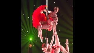 Miss Pole Dance 2014 - Doubles Performance by Terri & Lisette