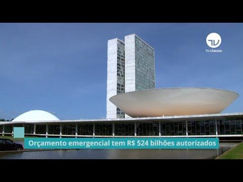 Orçamento emergencial tem R$524 bilhões autorizados - 10/09/20
