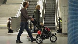 Probefahrt: Kinderwagen im ÖPNV