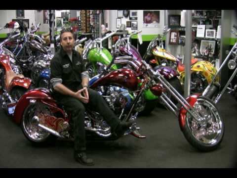 2004 BOURGET'S BIKE WORKS FAT DADDY CHOPPER in Auburn, Washington - Video 3