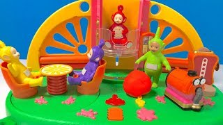 Learn Colors with Telletubbies Superdome Playset Toy | Fizzy Fun Toys
