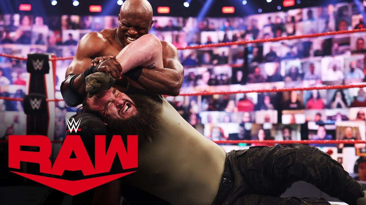 WWE Champion Bobby Lashley Faces Braun Strowman In The Non-Title RAW Main Event