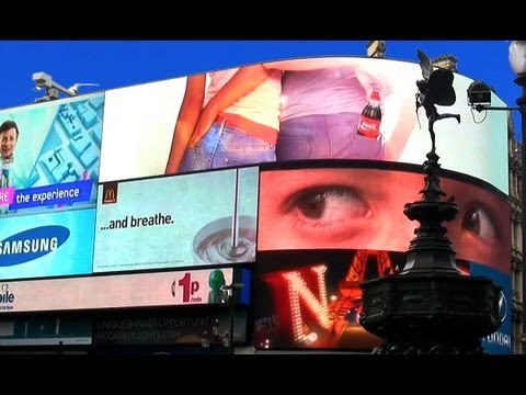 Piccadilly Circus - London Landmarks - H