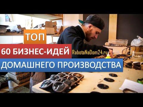 Производство в домашних условиях видео — ТОП 60 бизнес-идей