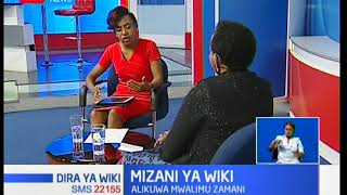 Mizani Ya Wiki:Lizzie Wanyoike,anawafadhili watoto zaidi ya 100