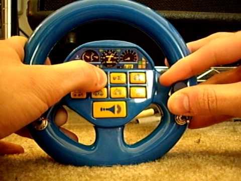 Circuit Bent Toy Steering Wheel Noisemaker