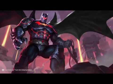 《Garena傳說對決》蝙蝠俠「地獄裝甲」造型展示影片