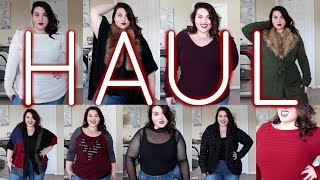 Sweater Weather HAUL! - Torrid & Fashion To Figure
