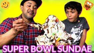 Super Bowl Sundae - Six lbs Ice Cream Sundae