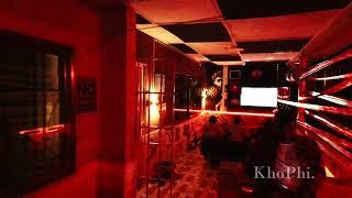 Night Time FPV Drone 4K Tour - The Boamahs Bar in Koforidua (Kula Perry)