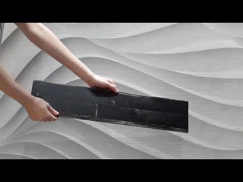 Distressed Wood Peel & Stick Wall Panels - Deep Space 1sqm