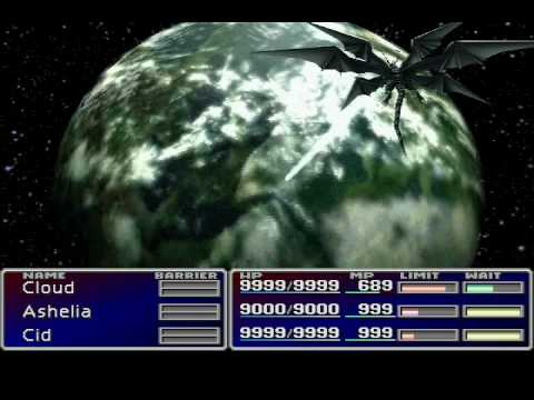 Final Fantasy 7 - All Summons - HQ