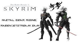 Weekly Skyrim Mods: Metal Gear Rising Raiden/Jetstream Sam, Akaviri Samurai Armor