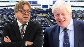 video: Guy Verhofstadt: Boris Johnson should channel Mrs Doubtfire instead of being the angry Hulk