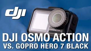 DJI OSMO ACTION vs GoPro Hero 7 BLACK + skateboard FAIL