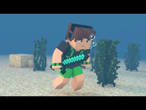 Minecraft: A BATALHA EMBAIXO D'AGUA!!! ‹SKYWARS›